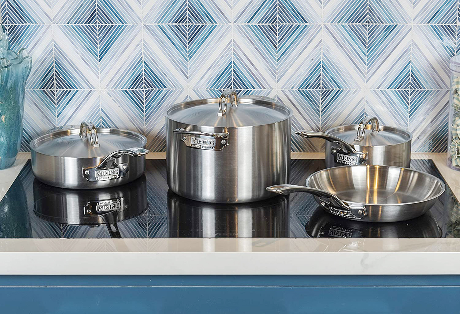 Viking Professional 5-Ply Cookware Set, 7 Piece