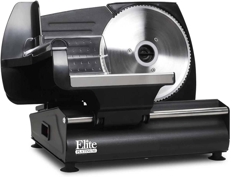 Maxi-Matic Elite Platinum Ultimate Precision Electric Deli Food Meat Slicer